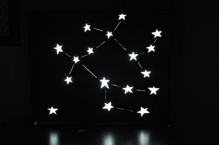 Constellation DIY light box - Make your own light fittings
