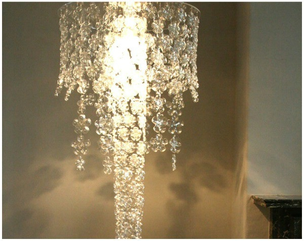 DIY plastic bottle chandelier - Make your own light fittings